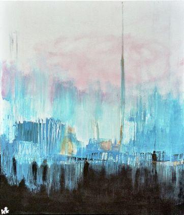 17 - La ville bleue