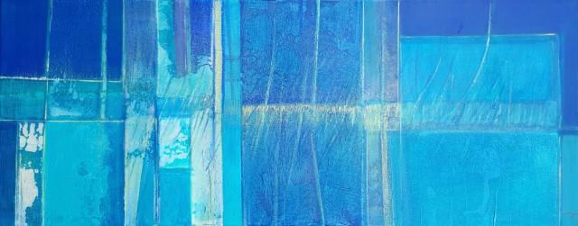 6 jacques-minala-poeme-bleu-40-100cm-2013